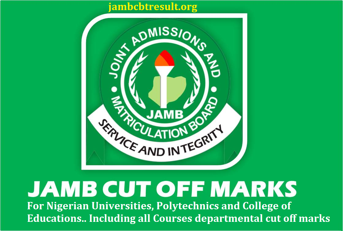 jamb cut off mark for polytechnics