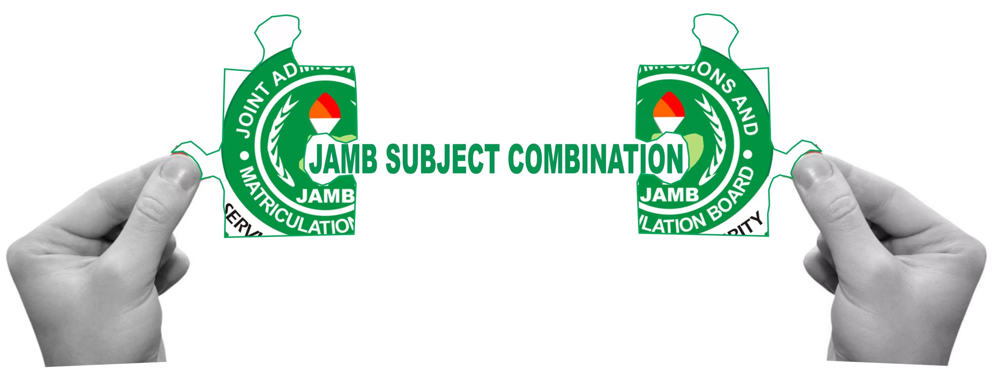 jamb subject combination