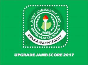 upgrade jamb result 2020